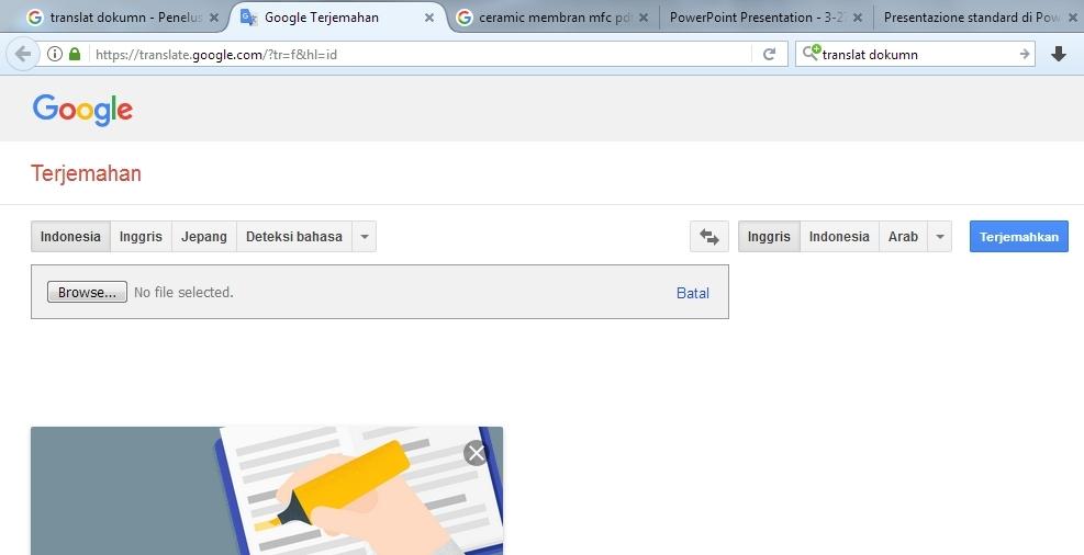 31+ Cara Translate Dokumen Di Google Translate mudah
