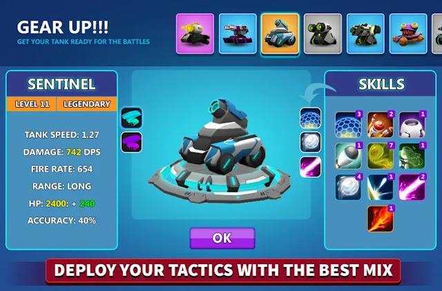 Tank Raid Online Mini Moba Oyunu