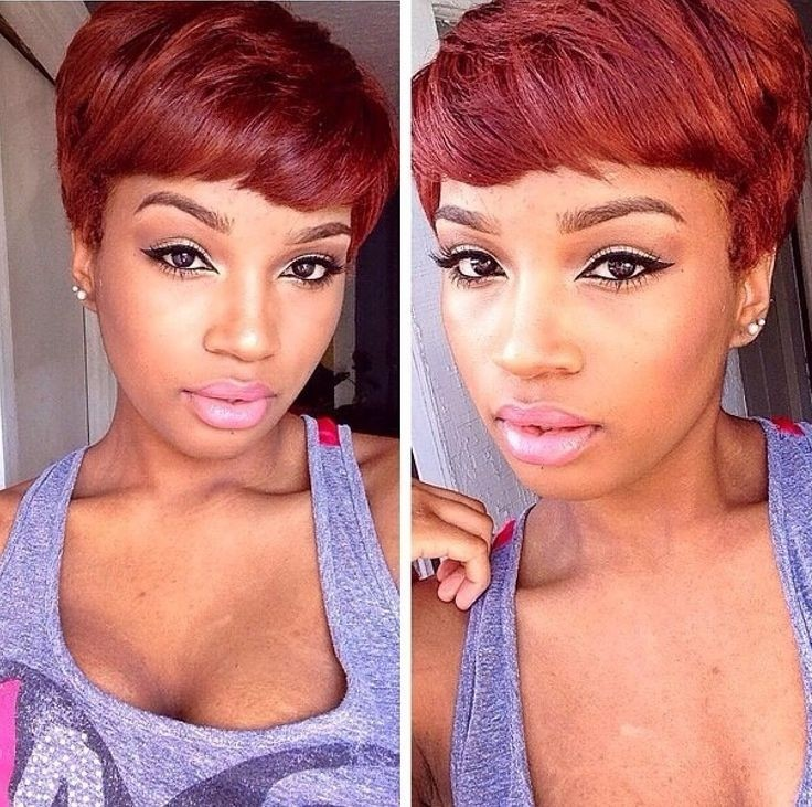 Marvelous Two Tone Short Hairstyle For Black Women Short Hairstyles For Black Women Fulllsitofus