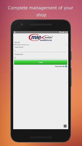 MIE Mobile Warehouse 1.1.0001 screenshots 1