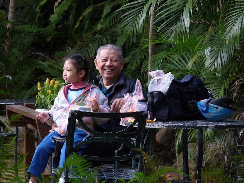 le sourire et le bonheur des Taiwanais