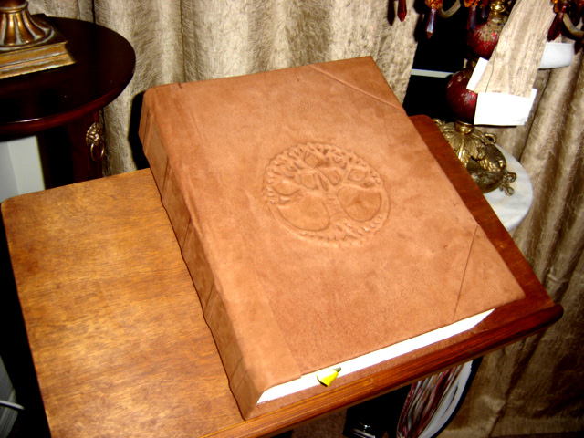 Tree Of Life Brown Book Of Shadows, Book Of Shadows