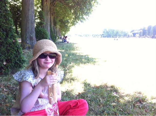Pique-nique à Versailles