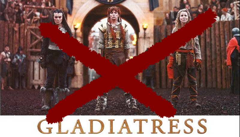 Gladiatress movie poster