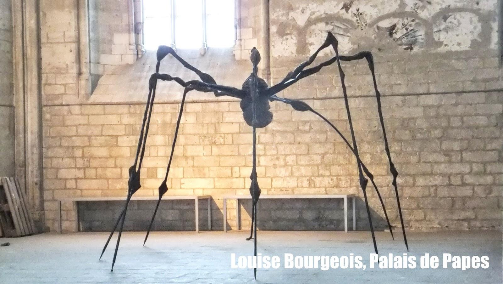 Papisas de Avignon, Louise Bourgeois