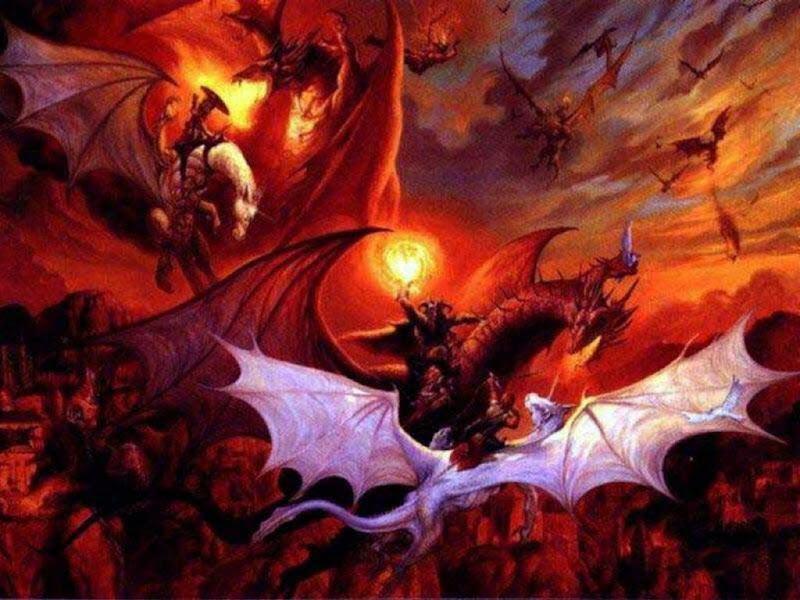 Drangons Nest, Dragons