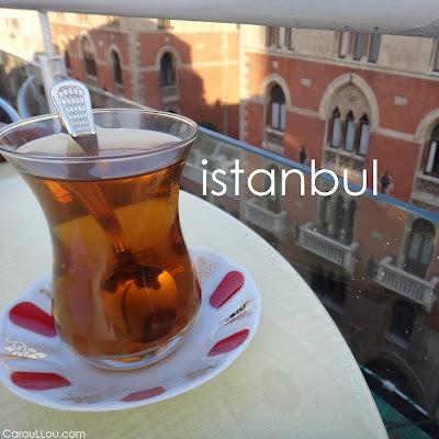 CarouLLou.com Carou LLou in Istanbul Turkey tea roof +--