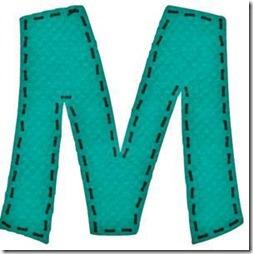 m letras verdes