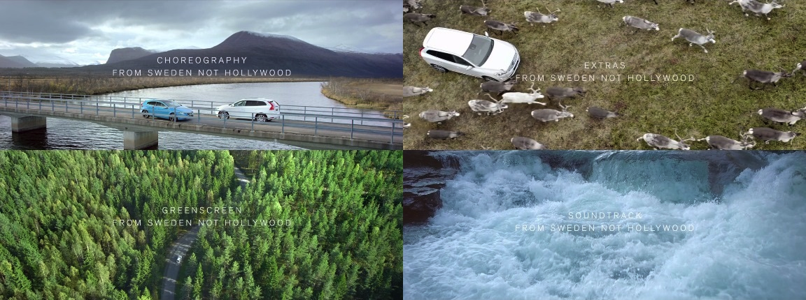 Volvo — From Sweden Not Hollywood
