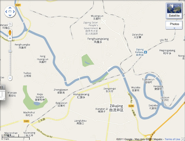 google map english version