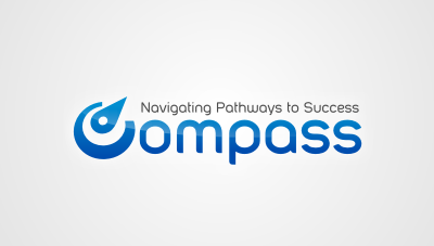 "Compass : a branding for a ""Global Talent Management System"" for Varian Medical Systems logo design"