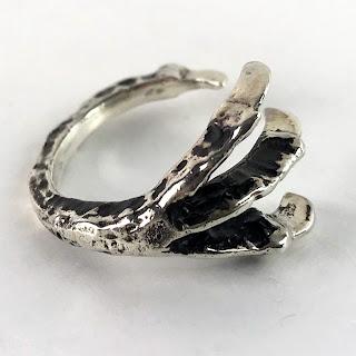 Pamela Love Sterling Silver Talon Ring