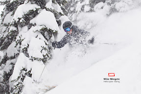 Mike Wiegle Hilicopter Skiing. Photos by John Schwirtlich – Certain Images.