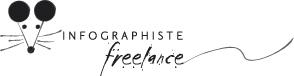 logo INFOGRAPHISTE FREELANCE concept 06