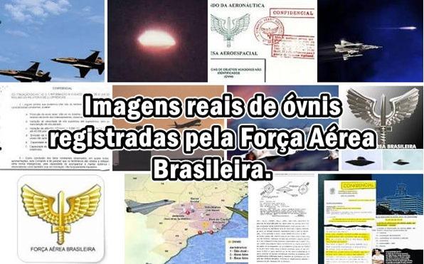 Imagens reais de óvnis registradas pela Força Aérea Brasileira 01