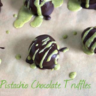 Pistachio Chocolate Truffles