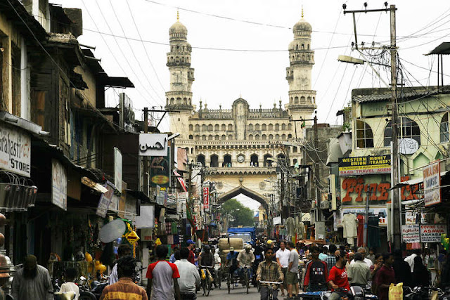 Hyderabad - Rare Pictures - charminarmod3.jpg