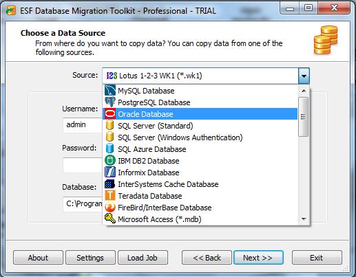 افضل برنامج للتحويل بين صيغ قواعد البيانات