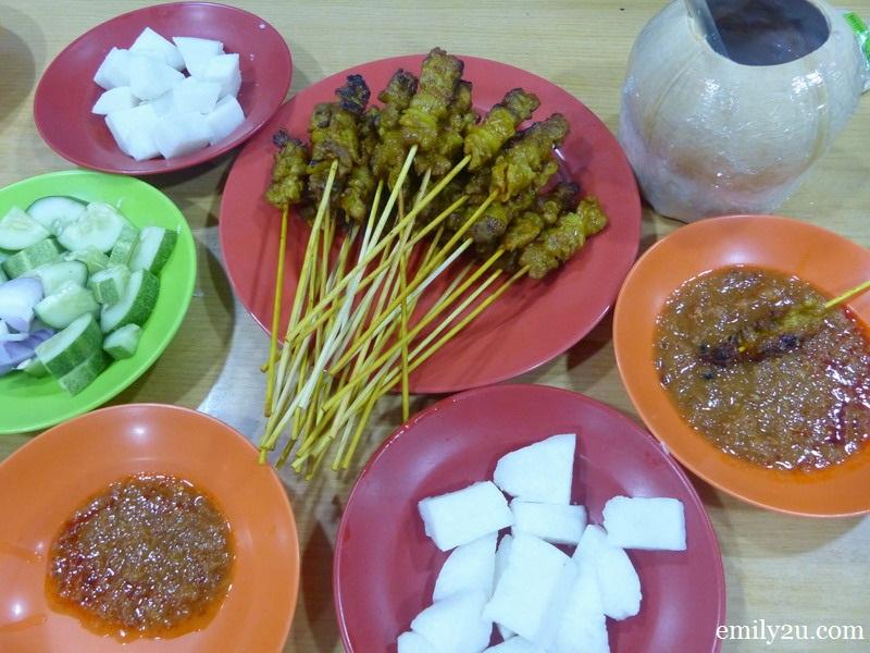 Famous Malacca Pork Satay