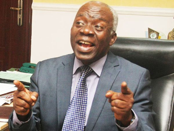 """I Am Not Timi Dakolo's Lawyer"" – Femi Falana Reacts To Media Reports"