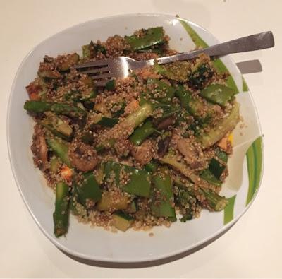 Quinoa mit Gemüse – vegan