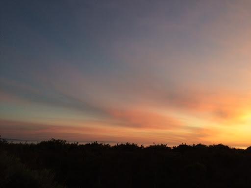 Sunset in Santa Barbara. The Secret to Big Fun in Santa Barbara for Very Little Money