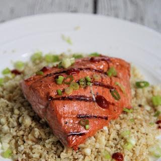 Easy Asian Salmon.
