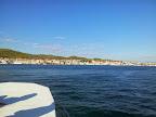 Blick auf den Hafen von Tribunj