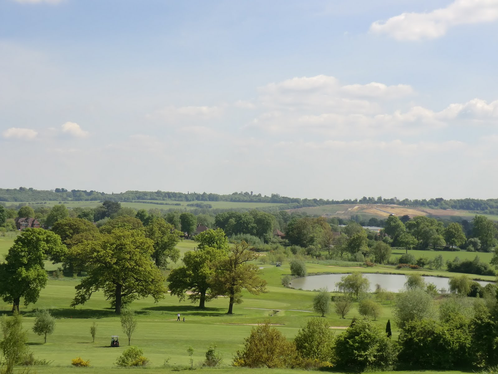 CIMG6820 Across Reigate Hill Golf Course