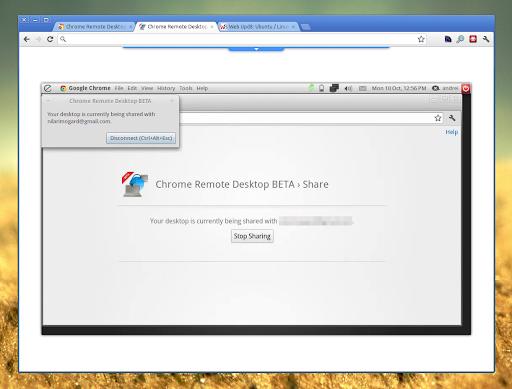 Google Releases Cross-Platform Remote Desktop Extension For Chrome ~ Web Upd8: Ubuntu / Linux blog