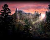 Nightmare Of Abandoned Landscape