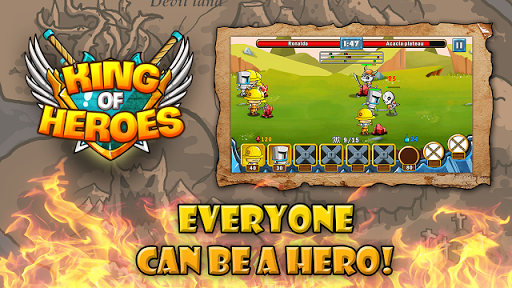 King of Heroes V1.0.1 Mod Apk (Unlimited Money)
