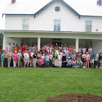 2003 Reunion portrait at the Gleaves Home Place