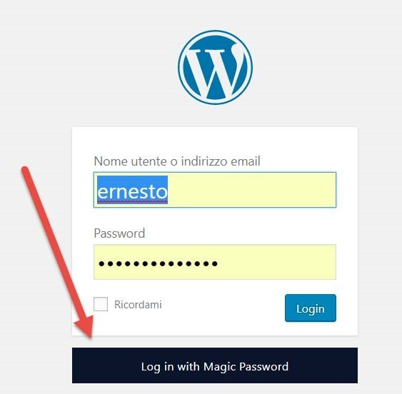 accesso-magic-password
