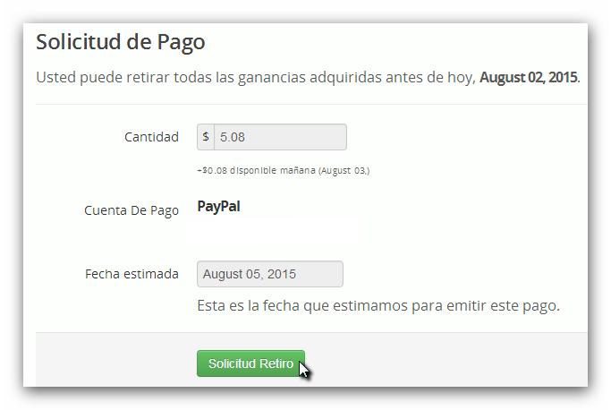 Binbox solicitud de pago