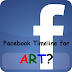 Facebook Timeline for Art Marketing
