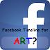 Facebook Timeline for Art Marketing