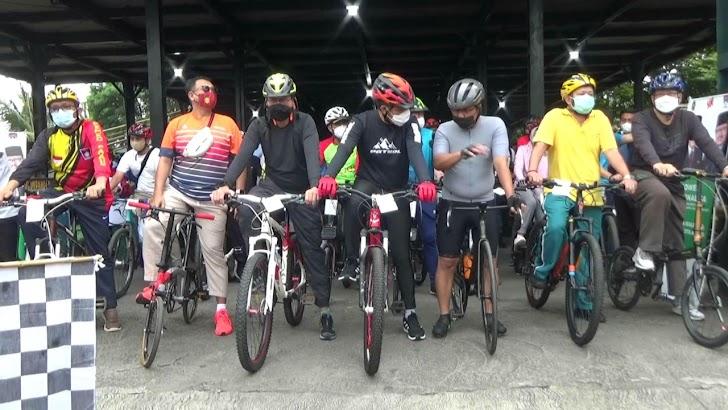 Keliling Yogya, Walikota se-Indonesia Gowes Gembira
