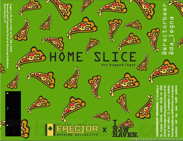 Erector Brewing Collective - Home Slice Dry-Hopped Lager