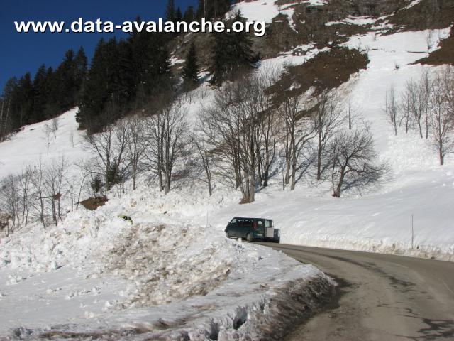 Avalanche Aravis, secteur Aiguille de Borderan, Crève Coeur - RD 909 - Photo 1