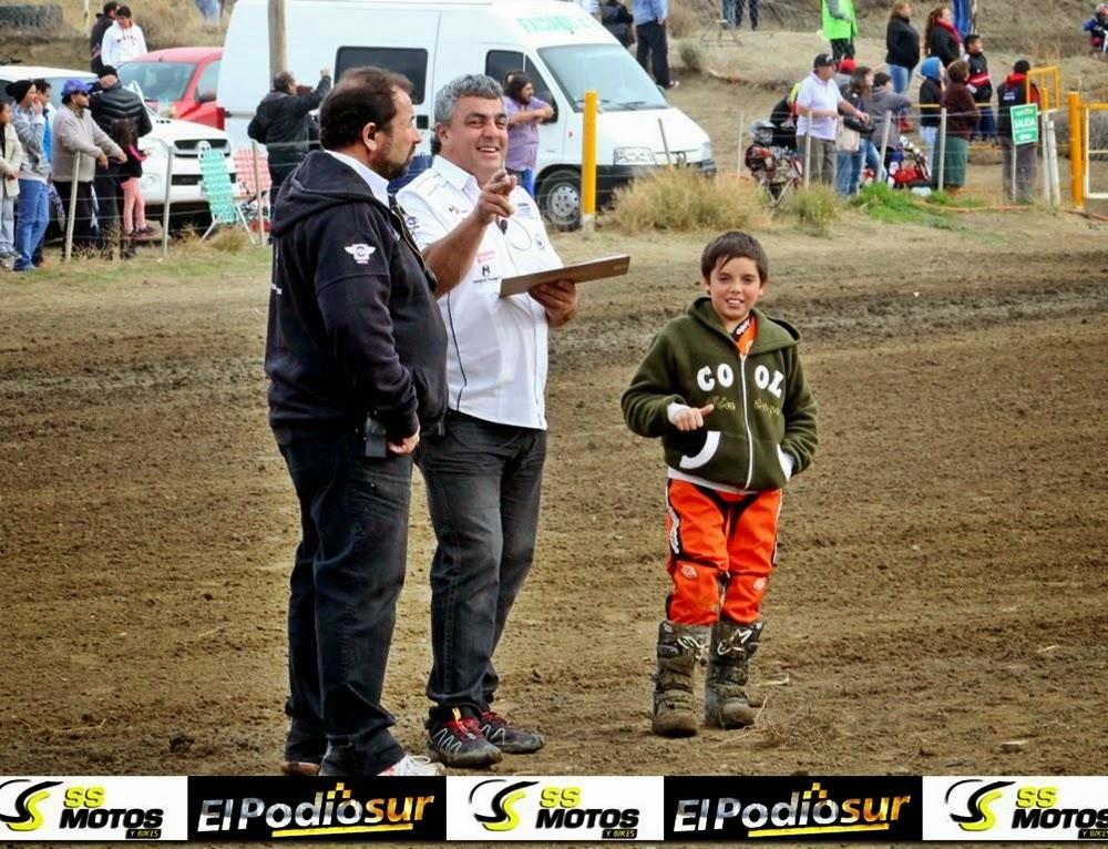Jorge Bucemo, junto a Nelson Diaz y el piloto Leandro López.