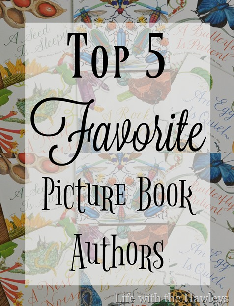 Favorite Picture Book Authors- Life with the Hawleys