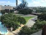 Looking down at about the same view as Oswald had