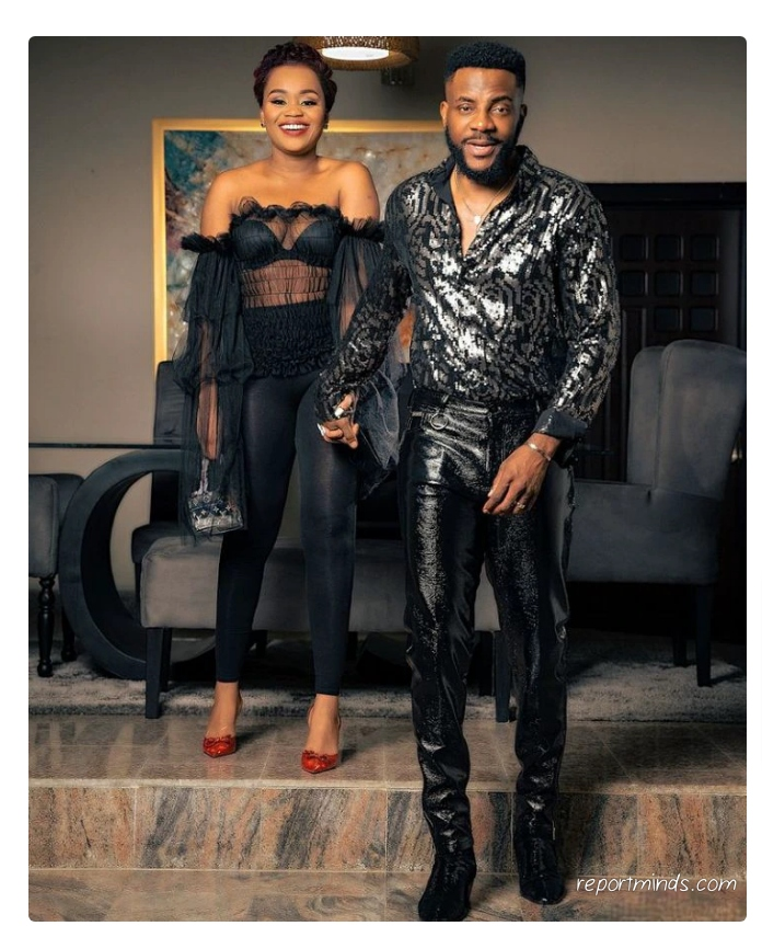 BBNaija host, Ebuka and his wife steps out looking dazzling in their lovely outfits