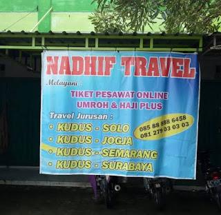 Nadhif travel kudus