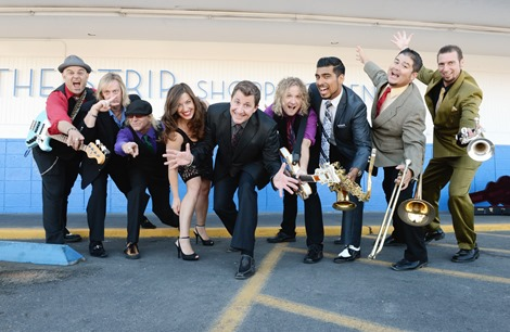 Louis Prima Jr Band September 23 2013 Tiffany Diner White Cross Drug Store Las Vegas Nevada USA Photos By Denise Truscello