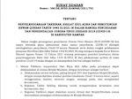 Surat Edaran Bupati Kampar Terkait Pelaksanaan Takbiran, Sholat Idul Adha Dan Pemotongan Hewan Qurban