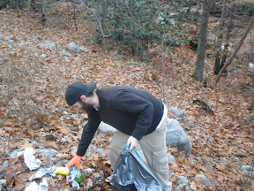litter cleanup WV