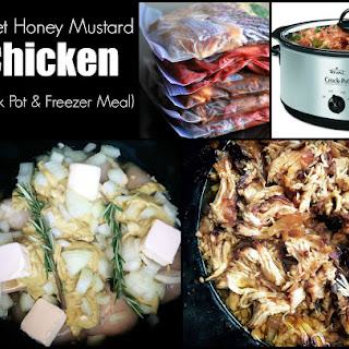 Sweet Honey Mustard Chicken (Crock Pot & Freezer Meal)