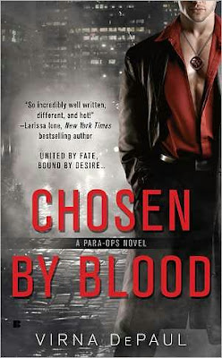 Chosen By Fate by Virna DePaul - Cover - February 28, 2011